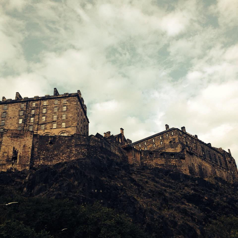 This is Edinburgh Castle. Imagine looking at that sonofabitch everyday. Sigh.