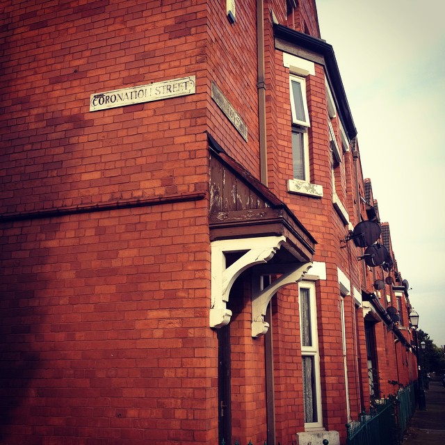 Coronation Street in Salford.